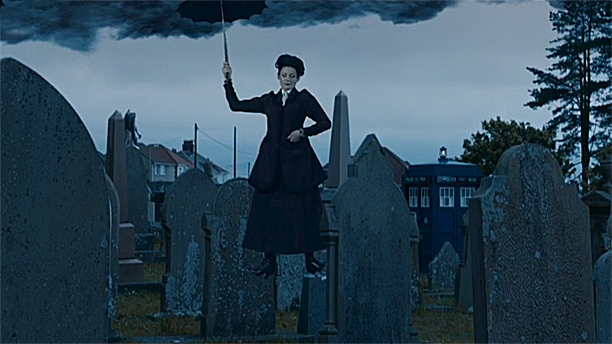 Michelle Gomez as Missy in 'Death in Heaven' (Pic: BBC)