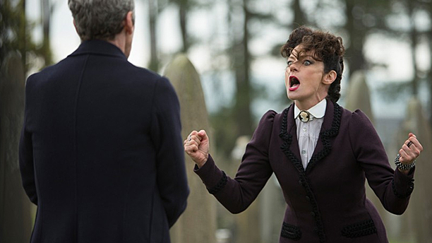 "Missy and the Doctor in ""Death in Heaven"""