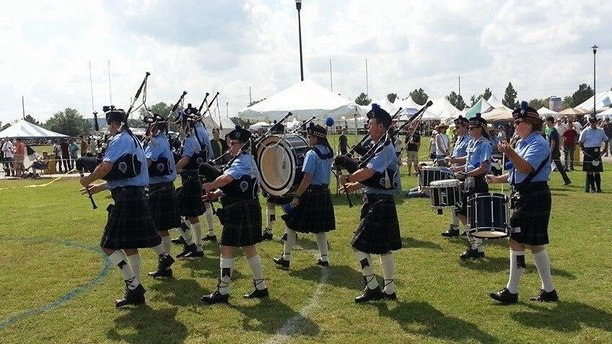 A band performing this years' SCOTFEST. (okscots.com)