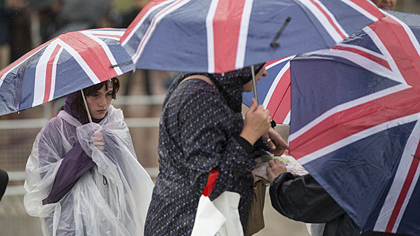 The great British summer (Pic: Oli Scarff/Getty Images)