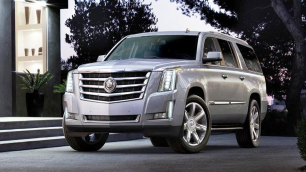 A 2015 Cadillac Escalade in stock at the American Car Centre (American Car Centre)