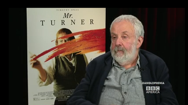 Director Mike Leigh sits down with Anglophenia's Tom Brook. (BBCA)