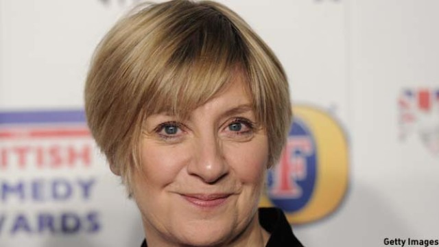 British comedian Victoria Wood attends t