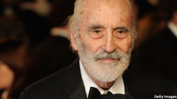 Sir Christopher Lee (Pic: Eamonn McCormack/Getty Images)