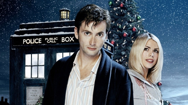 David Tennant and Billie Piper in 'The Christmas Invasion' (Pic: BBC)