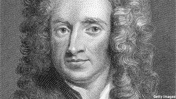 Sir Isaac Newton (Pic: Hulton Archive/Getty Pictures)