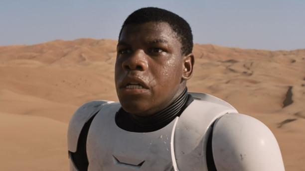 John Boyega in 'Star Wars: The Force Awakens' (Pic: Disney)