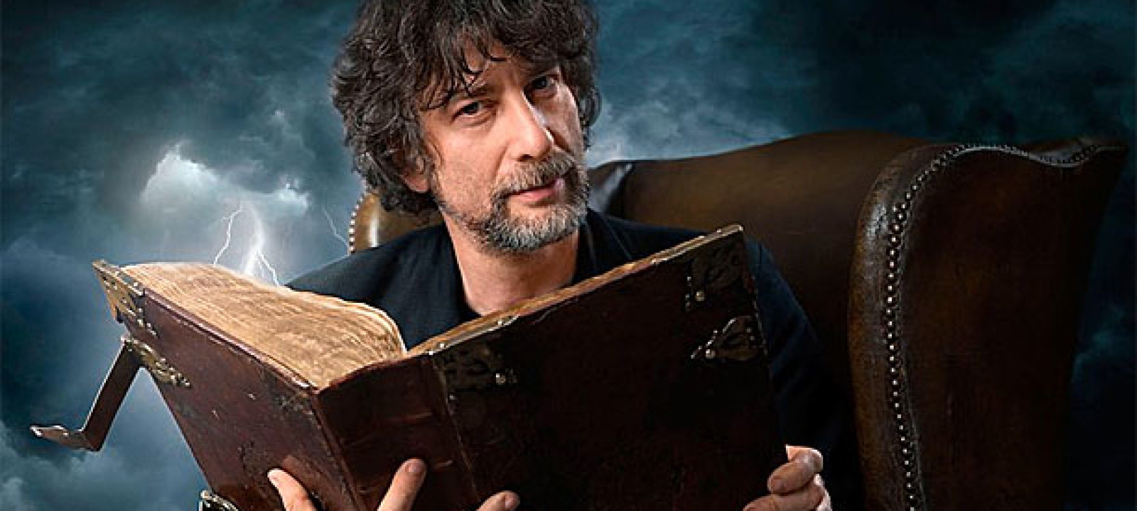 neil gaiman pic bbc listen first extracts from neil gaiman terry ...