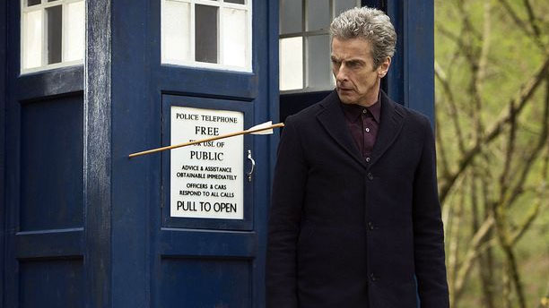 The Twelfth Doctor has an arrow escape. (Pic: BBC)
