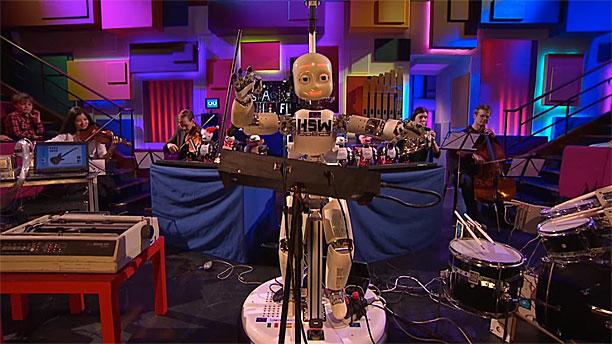BBC Four's robotic orchestra (Pic: BBC)