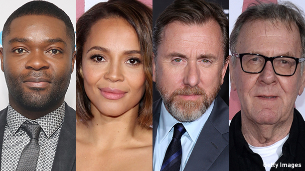From left: David Oyelowo, Carmen Ejogo, Tim Roth, and Tom Wilkinson. (Photo: Getty Images)
