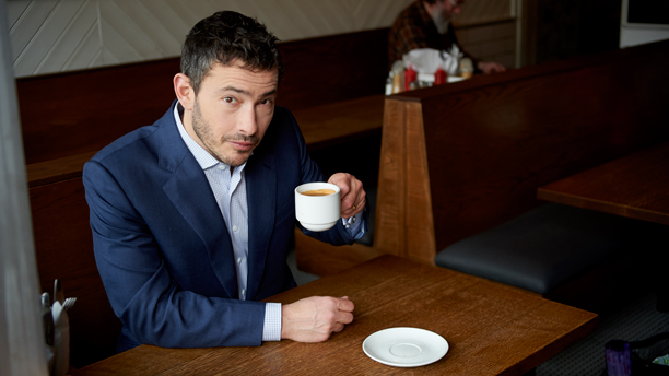 Giles Coren (Photo: BBC AMERICA)