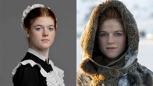 Rose Leslie stars as XX and XX in Game of Thrones.