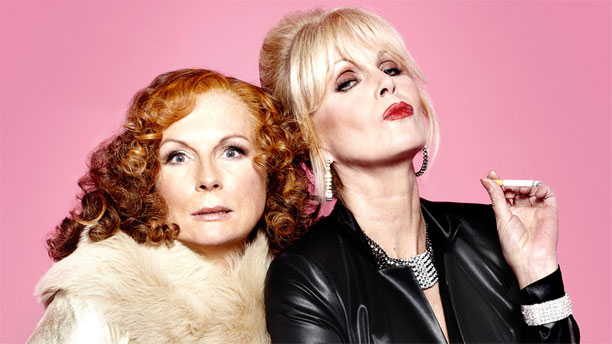 Jennifer Saunders and Joanna Lumley in 'Absolutely Fabulous' (Pic: BBC)