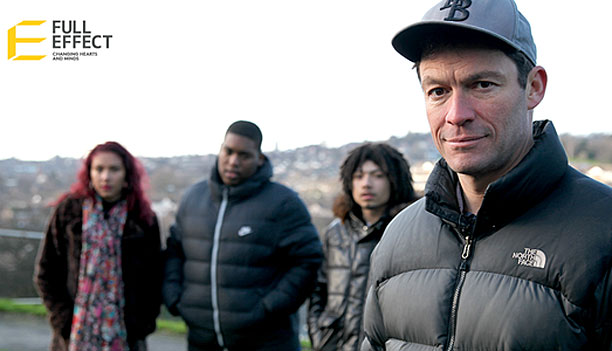 Dominic West and the cast of 'Guillemot' (Pic: Full Effect)