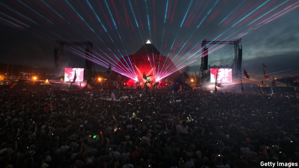 Coldplay headlined Glastonbury's Pyramid Stage in 2011. (Pic: Matt Cardy/Getty Images)