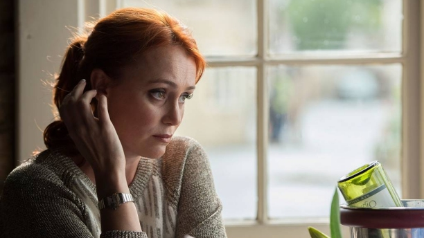 Keeley Hawes in The Casual Vacancy. (Pic: BBC)