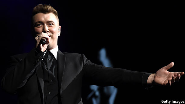 Sam Smith - empty handed, but for how long? (Pic: Theo Wargo/Getty Images)