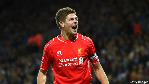Liverpool F.C.'s captain Steven Gerrard. (Pic: Shaun Botterill/Getty Images)