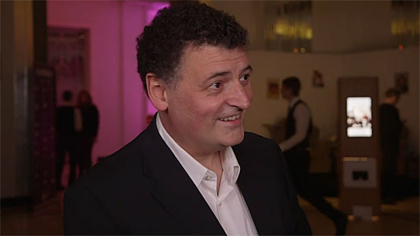 Steven Moffat (Pic: Radio Times)