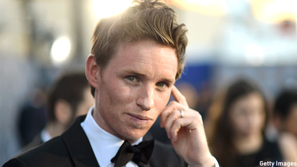 Eddie Redmayne at the Critics' Choice Movie Awards at the Hollywood Palladium in January. (Photo: Michael Buckner/Getty Images for BFCA)