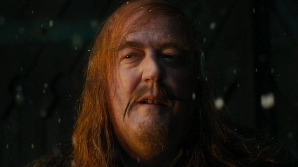 He's almost unrecognizable as the Master of XX in 2013's The Hobbit: The Desolation of Smaug. (MGM)