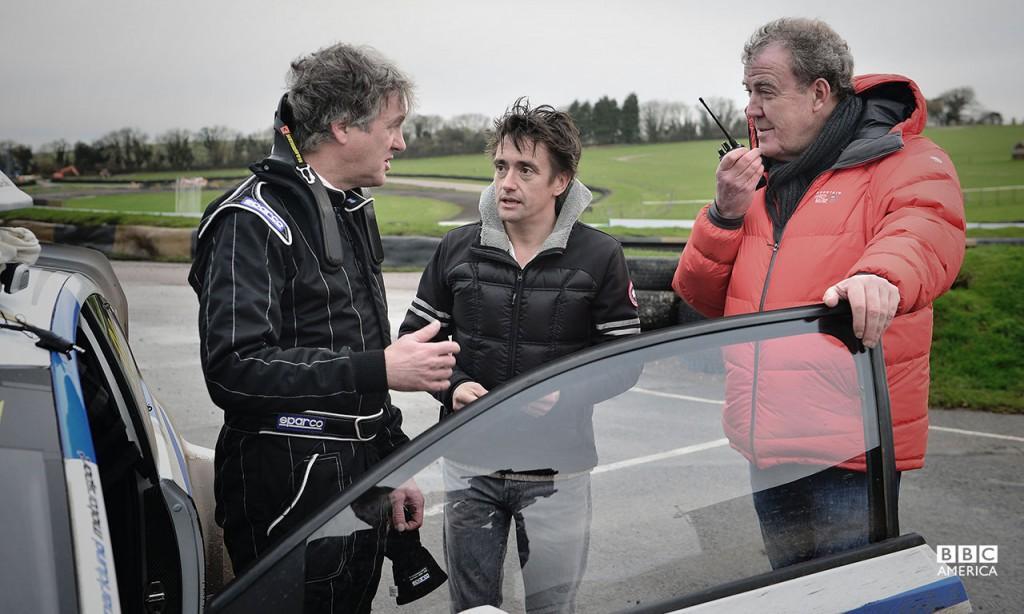 James May, Richard Hammond, and Jeremy Clarkson