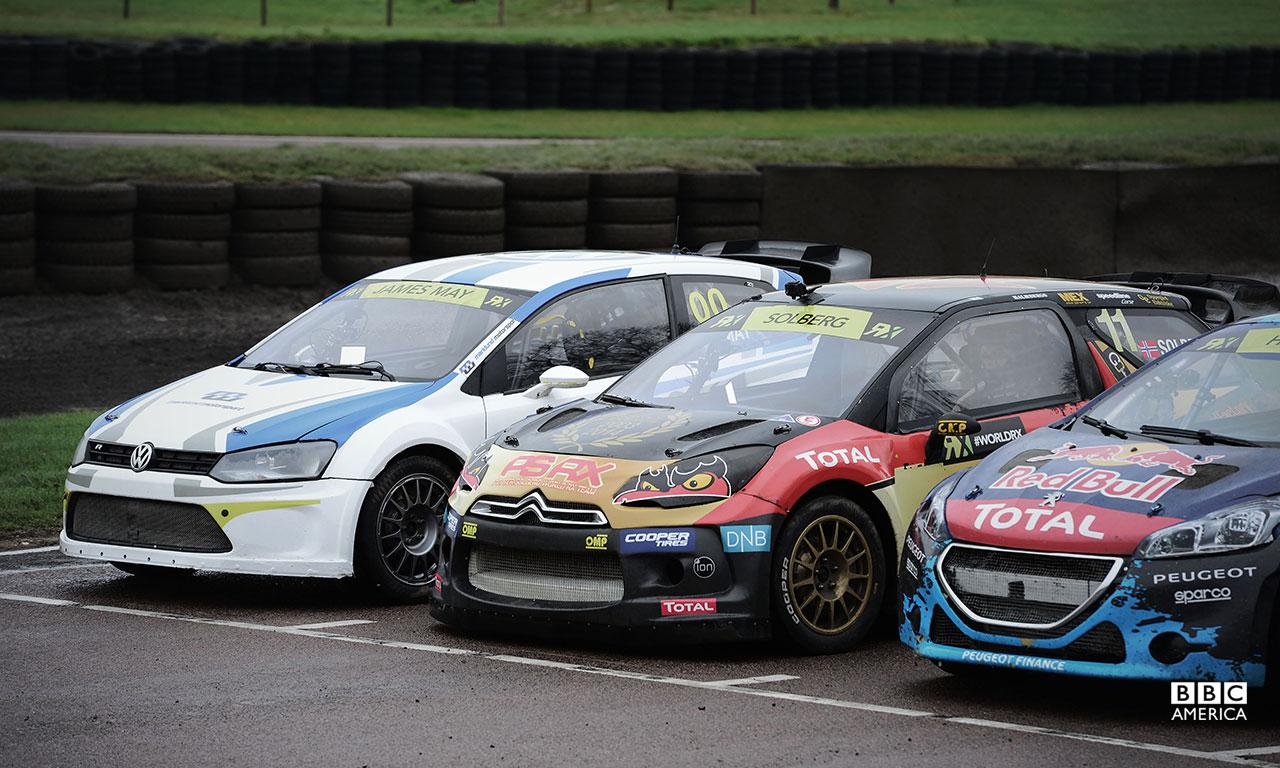 World Rallycross racing day.