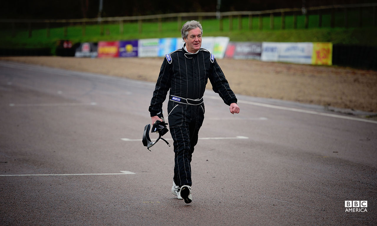 James May at Lydden Hill Race Circuit