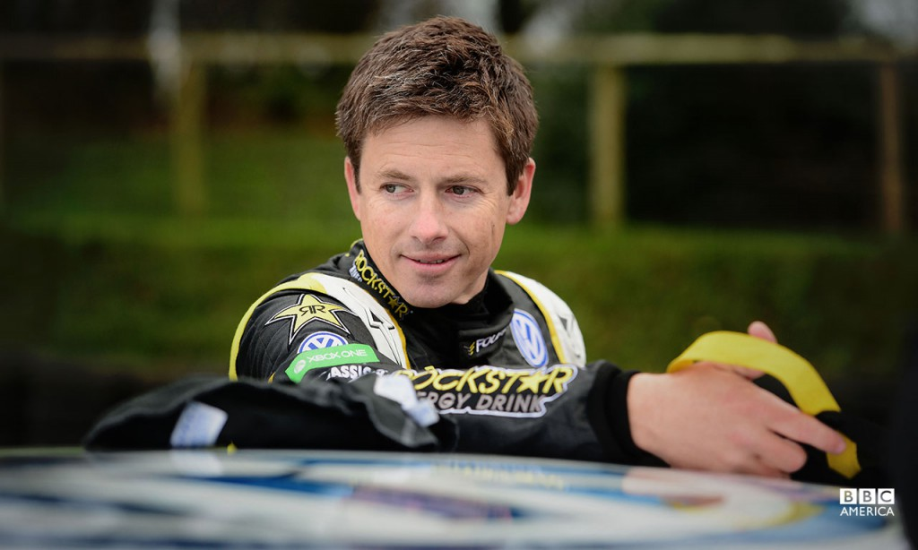 Tanner Foust at Lydden Hill Race Circuit