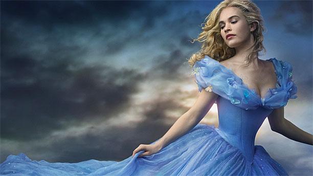 Lily James as Cinderella in 'Cinderella' (Pic: Disney)