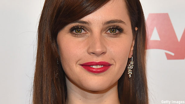 Felicity Jones (Pic: Gabriel Olsen/Getty Images)