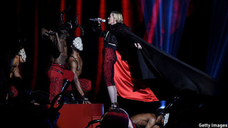 Madonna at the Brit Awards 2015
