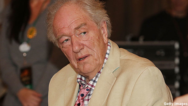 Michael Gambon at the recent  Celebration of Harry Potter event in Florida (Pic: Aaron Davidson/Getty Images)