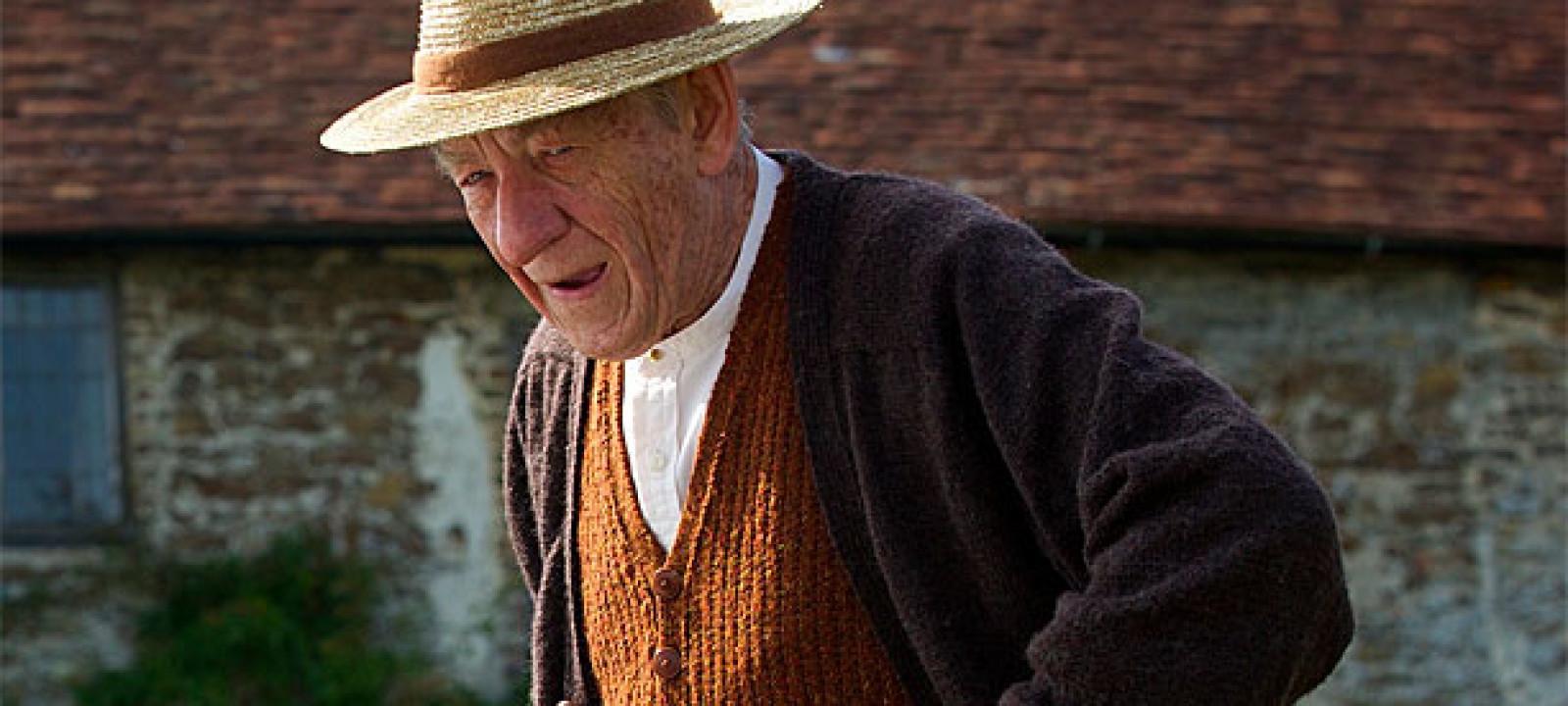 Sir Ian McKellen as Sherlock Holmes in 'Mr Holmes'