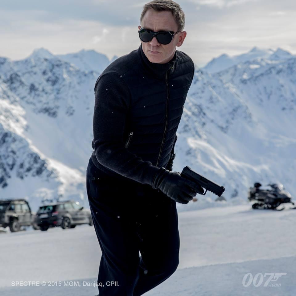 Daniel Craig as James Bond in 'Spectre' (Pic: Facebook)