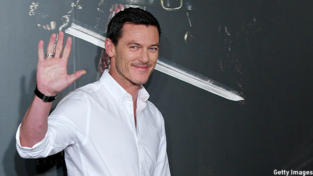 Luke Evans at the premiere of 'Dracula Untold.' (Photo: Carlos Alvarez/Getty Images)