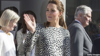 The Duchess Of Cambridge Visits Margate