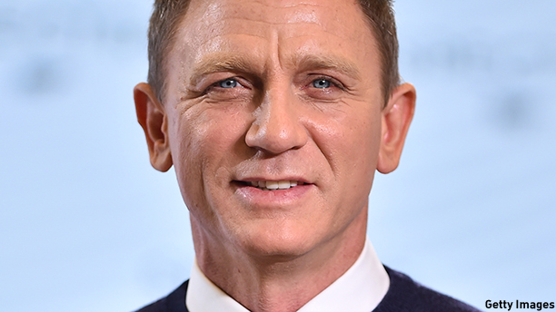 "British actor Daniel Craig poses during an event to launch the 24th James Bond film 'Spectre' at Pinewood Studios at Iver Heath in Buckinghamshire, west of London, on December 4, 2014. French actress Lea Seydoux and Italian star Monica Bellucci will star alongside Britain's Daniel Craig in the new James Bond film ""Spectre"", the producers said on December 4 at the historic Pinewood Studios.  AFP PHOTO / BEN STANSALL        (Photo credit should read BEN STANSALL/AFP/Getty Images)"
