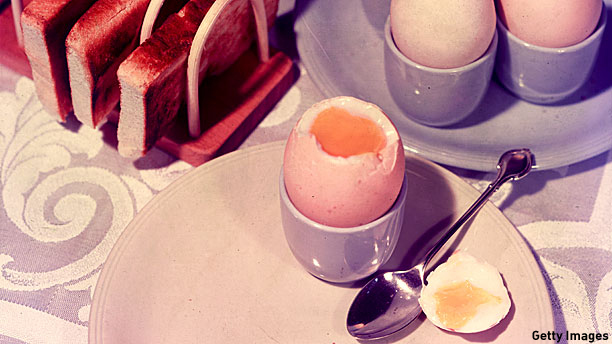 British Breakfast, 1950s style (Pic:  Chaloner Woods/Getty Images)