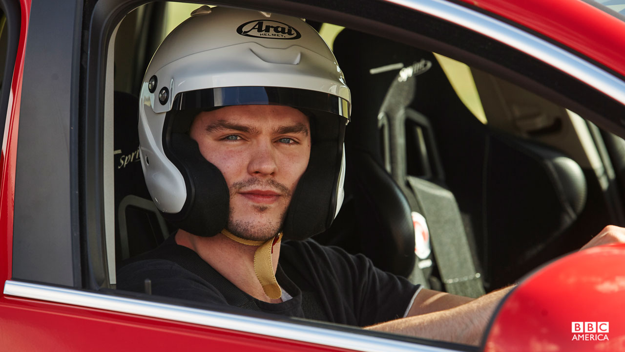 Nicholas Hoult in a Reasonably Priced Car