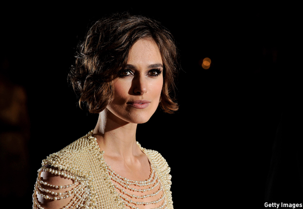 LONDON, ENGLAND - OCTOBER 13:  Actress Keira Knightley attends the 'Never Let Me Go' premiere during the Opening Night of the 54th BFI London Film Festival at the Odeon Leicester Square on October 13, 2010 in London, England.  (Photo by Gareth Cattermole/Getty Images) *** Local Caption *** Keira Knightley