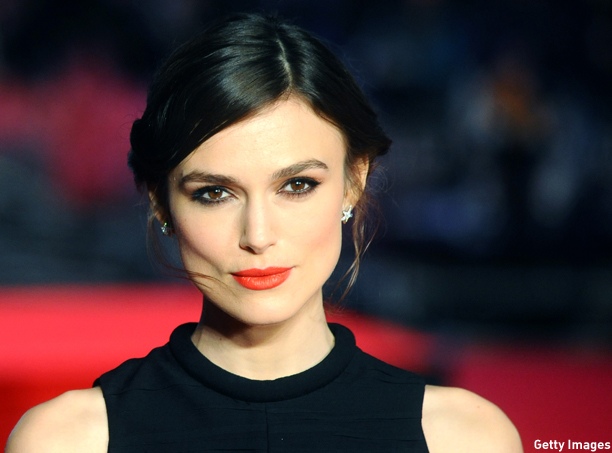 "LONDON, ENGLAND - JANUARY 20:  Keira Knightley attends the UK Premiere of ""Jack Ryan: Shadow Recruit"" at Vue Leicester Square on January 20, 2014 in London, England.  (Photo by Anthony Harvey/Getty Images)"