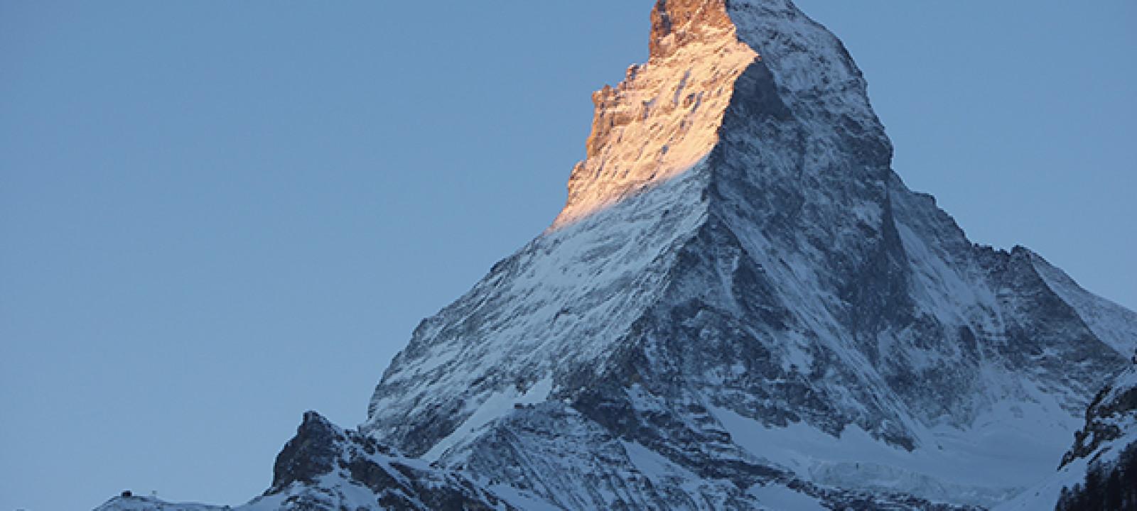 Sunrise At The Matterhorn