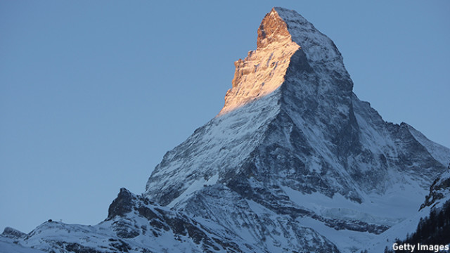 Sunrise At The Matterhorn