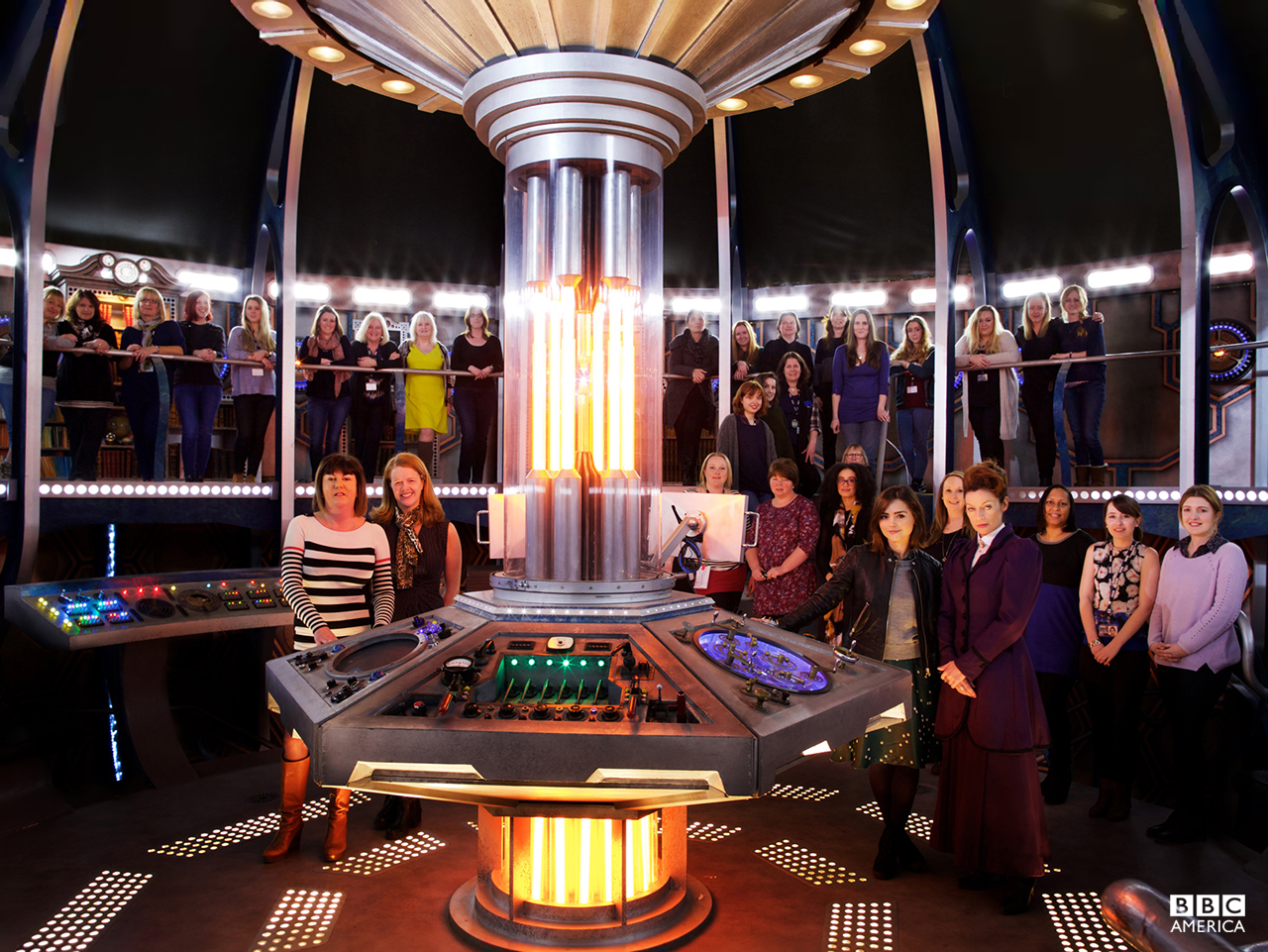 On March 8, the women of Doctor Who -- both in front of and behind the camera -- celebrated International Women's Day.