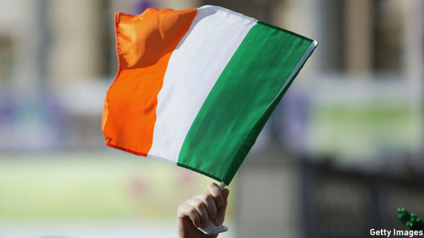 The Irish tricolor (Pic: Jeremy O'Donnell/Getty Images)