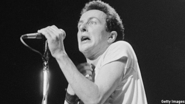 Joe Strummer, a heroic Joe (Pic: Chris Moorhouse/Getty Images)