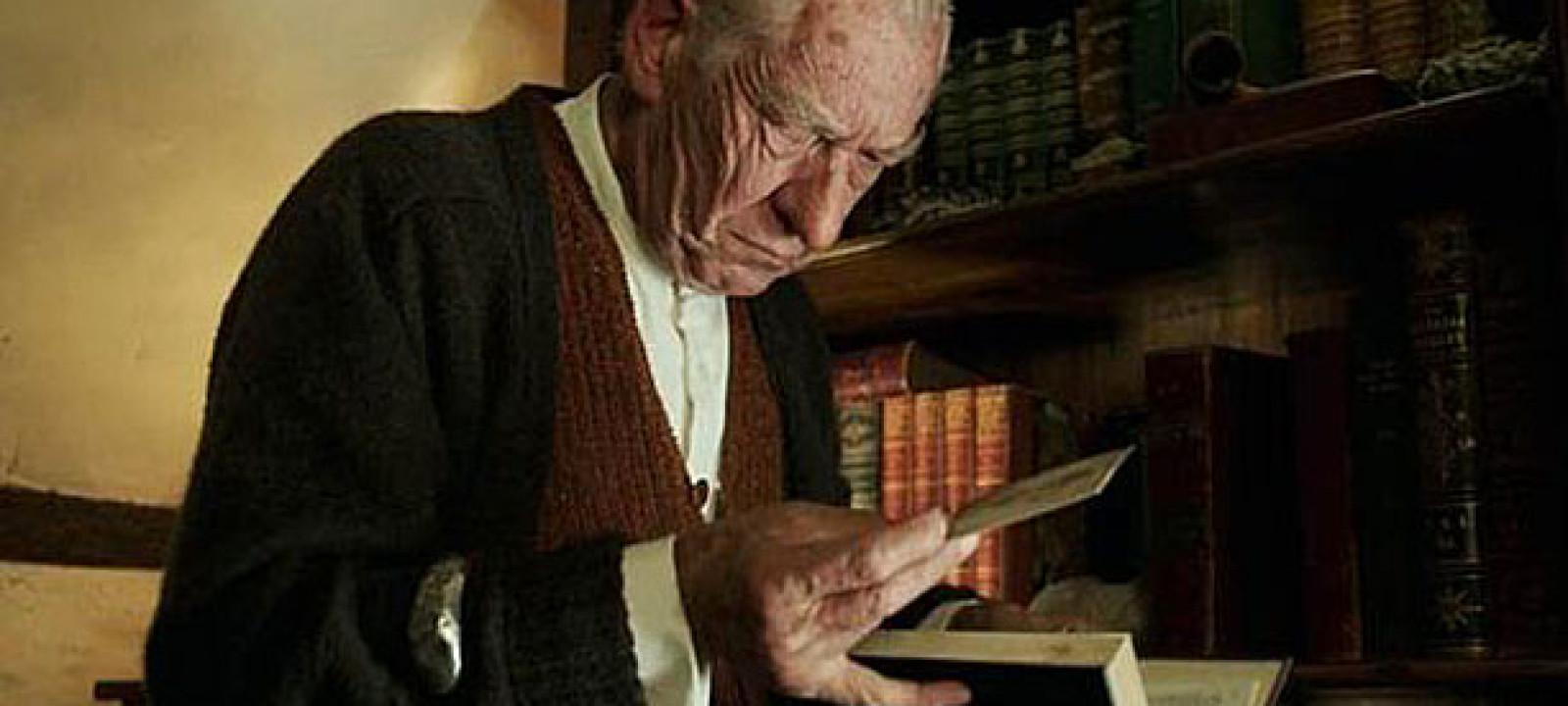 Ian McKellen as Sherlock in 'Mr Holmes' (Pic: BBC Films)