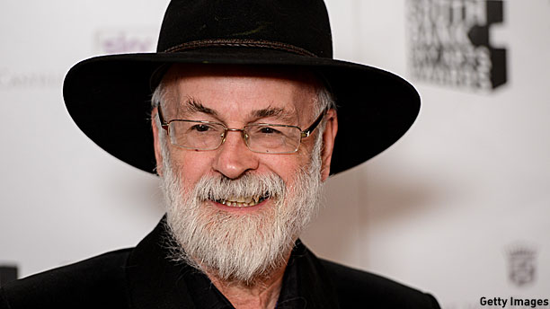Terry Pratchett (Pic: Ian Gavan/Getty Images)